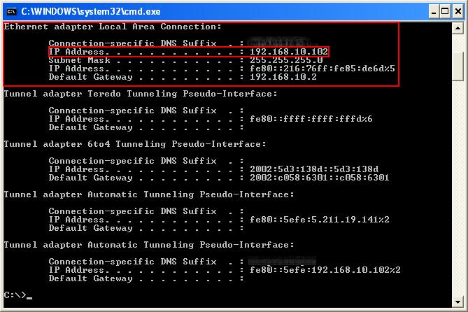 ip 5 Kaip sužinoti savo kompiuterio IP adresą?