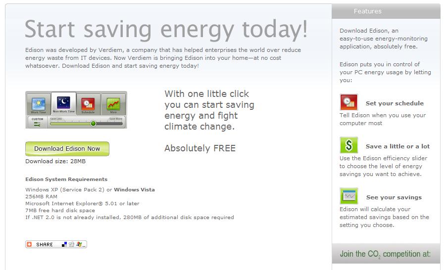 untitled Kaip su kompiuteriu taupyti elektros energiją?