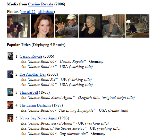 imdb2 Geriausia vieta žiūrėti filmų treilerius (anonsus)