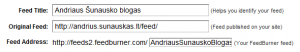 Andriaus Šunausko blogo RSS adresas