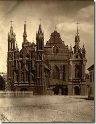 Onos ir Bernardinu baznycia 1874