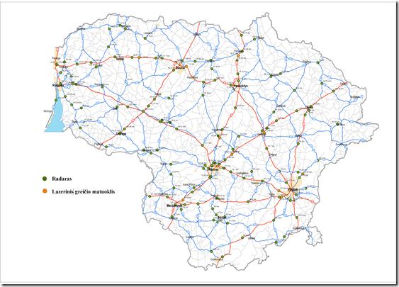 Greicio matuokliai Lietuvoje